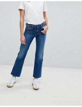 Pepe Jeans Check In Bootcut Jeans by Pepe Jeans