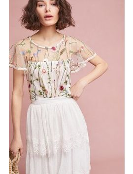 Winifred Floral Top by Eri + Ali