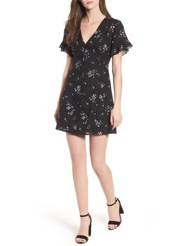 Button Front Skater Dress by Lush