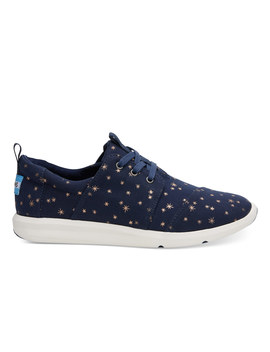 Navy Light Burst Women's Del Rey Sneakers by Toms