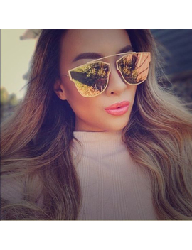 Victory Lip Women Men Brand Designer Famous Cat Eye Mirror Fashion Sunglasses Transparent Eyeglasses Sun Glasses Male Or Female by Victory Store For You