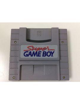 Super Gameboy Cartridge For Super Nintendo Snes by Nintendo