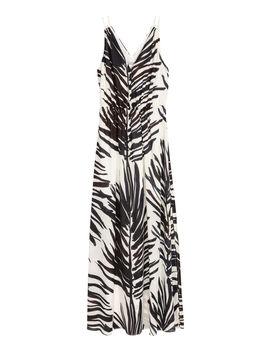 Langes Kleid Mit V Ausschnitt by H&M