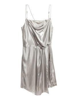 Kleid Mit Metallicschimmer by H&M