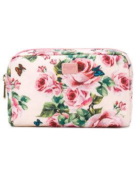 Rose Print Make Up Bag by Dolce & Gabbana