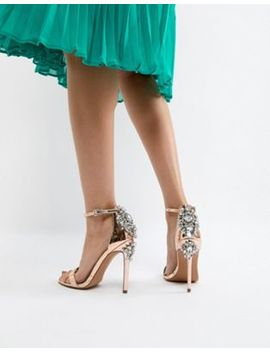 Asos High Roller Embellished Heeled Sandals by Asos Collection