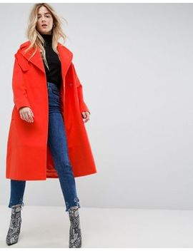 Asos – Oversize Mantel Mit Tasche by Asos Collection
