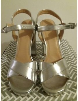 Brand New Top Shop Silver Shoes Size 4 by Topshop