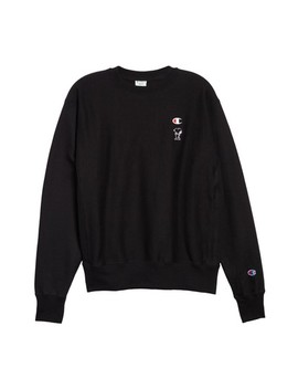 Snoopy Unisex Sweatshirt by Champion