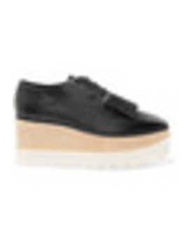 Elyse Faux Leather Platform Brogues by Stella Mc Cartney