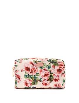 Floral Print Fabric Washbag by Dolce & Gabbana