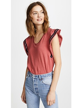 Ruffle Tee by Scotch & Soda/Maison Scotch