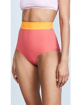 Arden High Waist Bikini Bottoms by Flagpole