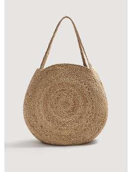Jute Bucketbag by Mango