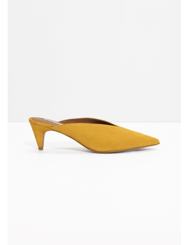 Pointed Mule Pumps by & Other Stories
