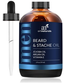 Art Naturals Beard Oil And Conditioner   2 Fl Oz   Pure And Natural Unscented   For Groomed Beard Growth, Mustache, Face And Skin by Art Naturals