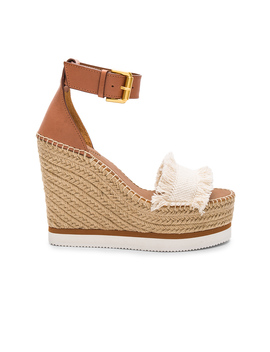 Frayed Wedge by See By Chloe