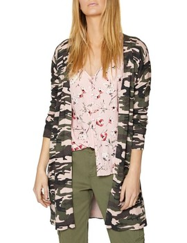 Lenox Camo Cardigan by Sanctuary