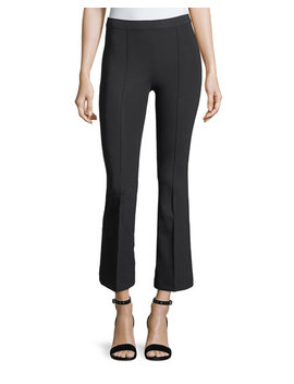 Cropped Flare Leggings by Helmut Lang