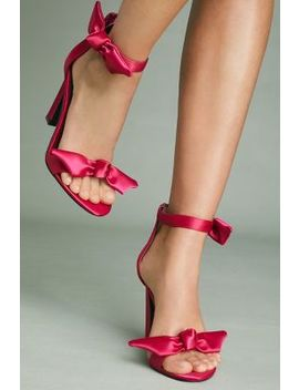 Jeffrey Campbell Minari Bow Heeled Sandals by Jeffrey Campbell