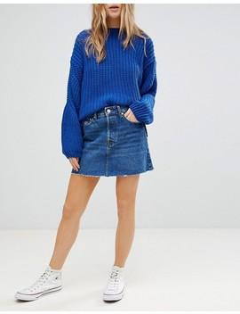 Bershka Denim Skirt by Bershka