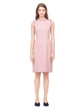 Spring Suiting Ruffle Dress by Rebecca Taylor