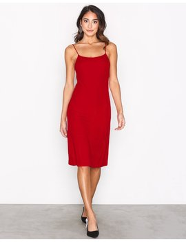 Jersey Crepe Strap Dress by Filippa K