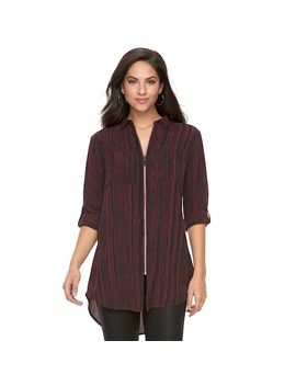 Women's Rock &Amp; Republic® Zip Tunic by Rock &Amp; Republic