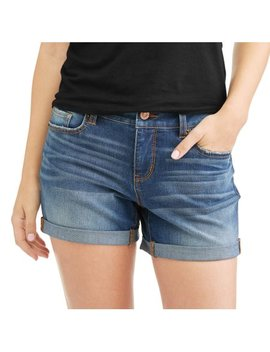 Time And Tru Women's Denim Shorts by Generic