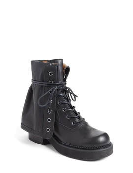 See By Chloe Katerina Foldover Combat Boot by See By ChloÉ