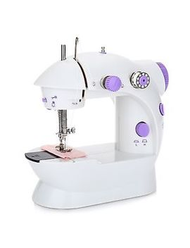 Desktop Sewing Machine Mini Electric Portable Hand Held Double Speed + Light by Unbranded
