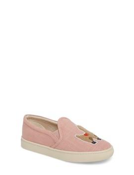 Llama Slip On Sneaker by Soludos