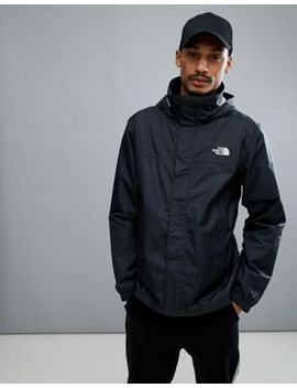 The North Face Resolve 2 Jacket Hooded Waterproof In Black by The North Face