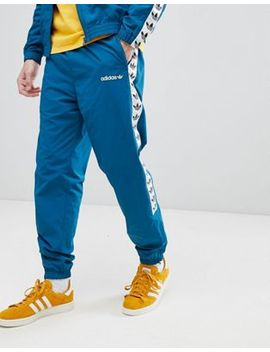 Adidas Originals Vintage Joggers With Taping In Blue Ce4827 by Adidas Originals