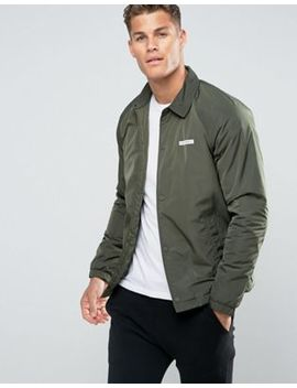 Hollister Coach Jacket In Olive by Hollister