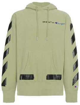 Off White X Champion Kapuzenpullover by Off White