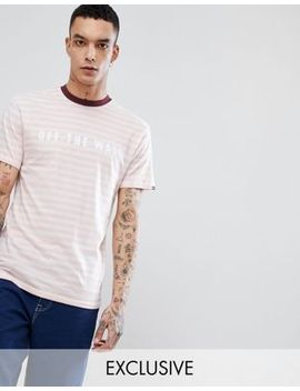 Vans Oversized Otw T Shirt In Pink Exclusive To Asos by Vans