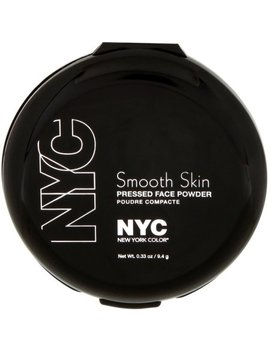 New York Color Smooth Skin Pressed Face Powder, Naturally Beige 0.33 Oz by N.Y.C. New York Color