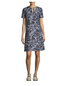 Dina Space Dyed Cutout Dress by Tory Burch