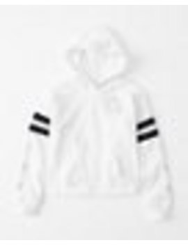 Shine Sporty Logo Hoodie by Abercrombie & Fitch