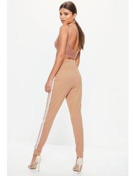 Tall Brown Basic Joggers by Missguided