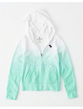 Terry Full Zip Hoodie by Abercrombie & Fitch