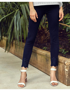 Embroidered Skinny Jeans by Ted Baker