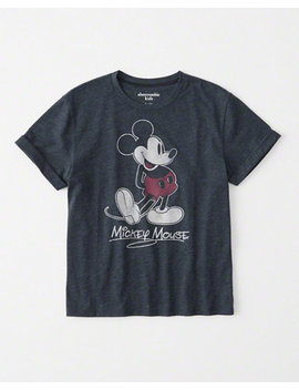 Mickey Graphic Tee by Abercrombie & Fitch