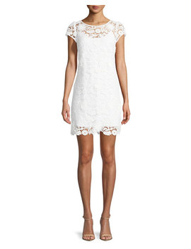 Chloe 3 D Lace Dress by Milly