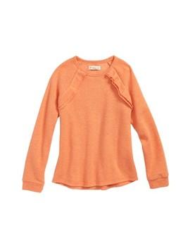 Ruffle Fleece Sweatshirt by Tucker + Tate