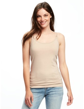 Maternity Fitted Nursing Cami by Old Navy