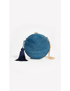 Adele Round Clutch by Serpui Marie