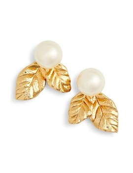 Kate Spade Mini Imitation Pearl Stud Earrings by Kate Spade New York