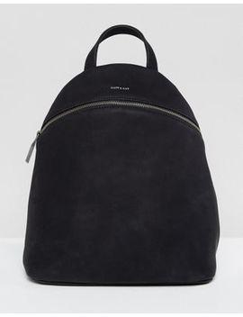Черный рюкзак из искусственной замши Matt & Nat Aries by Asos